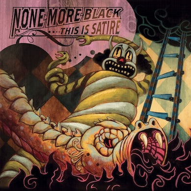 None More Black This Is Satire CD