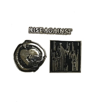 Rise Against Enamel Pin Set