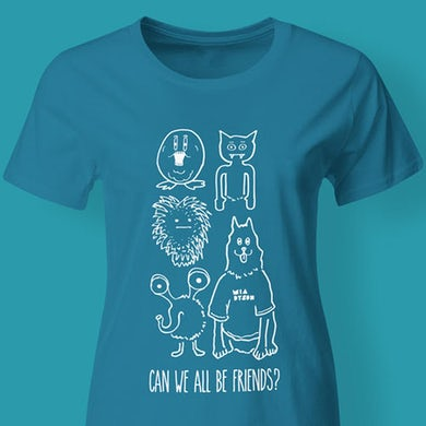 Mia Dyson Can We All Be Friends Tee (Blue)
