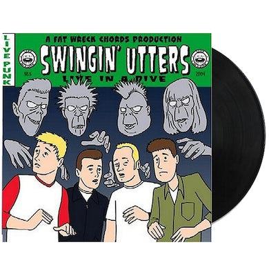 Swingin' Utters Live in A Dive LP (Vinyl)