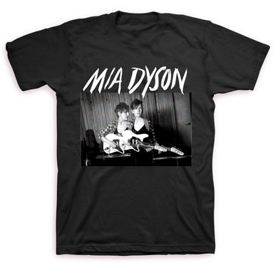 Mia Dyson Guitar Photo Tee (Black)