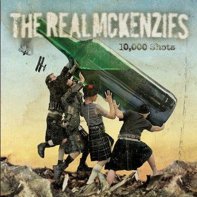 The Real McKenzies 10,000 Shots CD