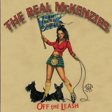 The Real McKenzies Off The Leash CD