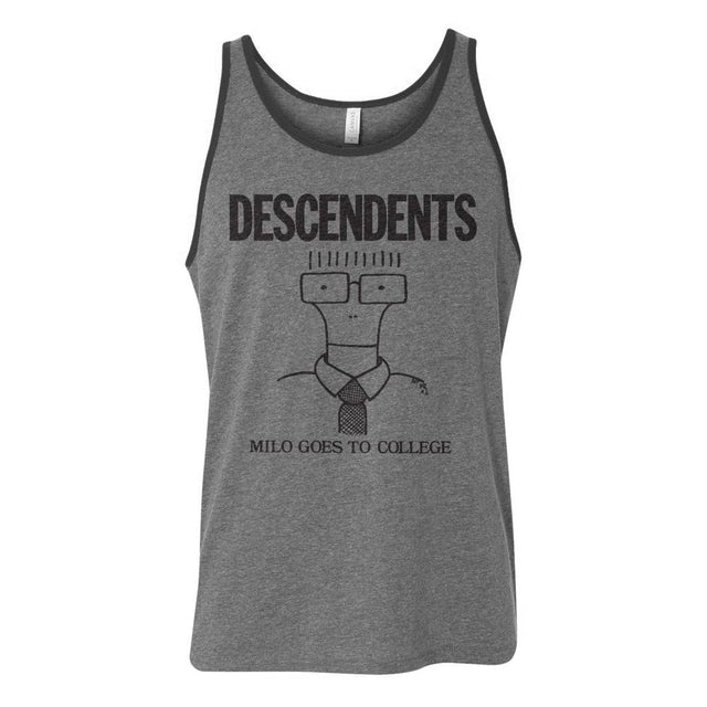 Descendents Milo Goes To College Tank (Grey)
