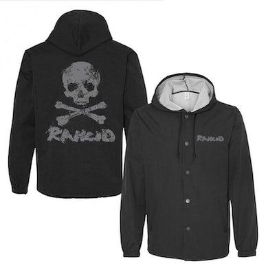 Rancid Skull Windbreaker (Black)