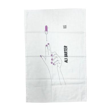 Ali Barter Gun Tea Towel