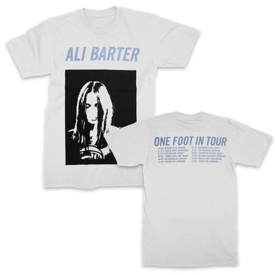 Ali Barter One Foot In Tour Tee (White)