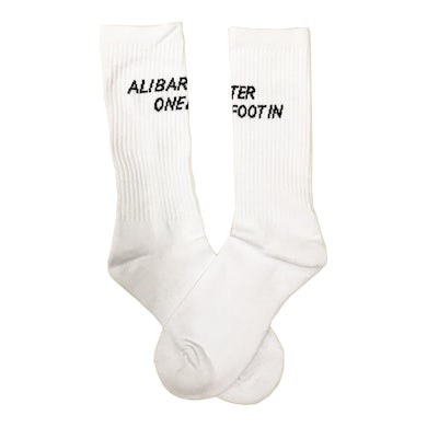 Ali Barter One Foot In Socks (White)
