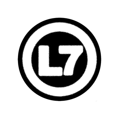 L7 Logo Patch (Black/White)