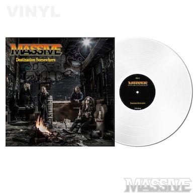 Massive Destination Somewhere LP (White Aust Excl Ltd Ed) (Vinyl)