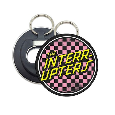 The Interrupters Checkered Logo Bottle Opener