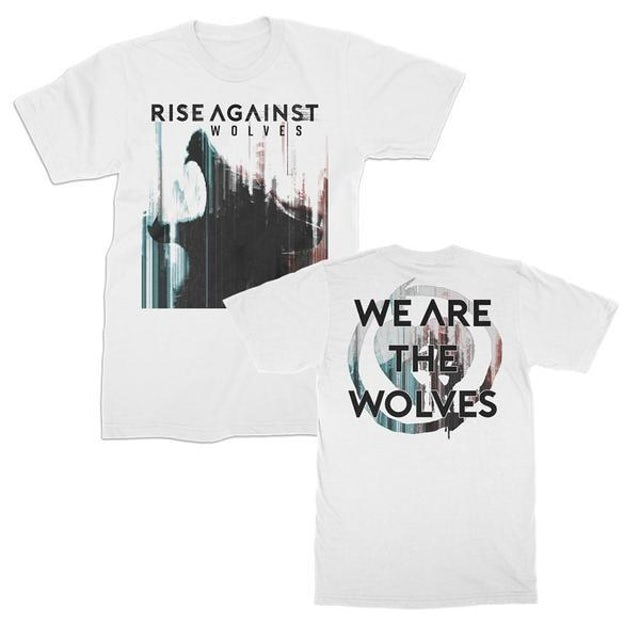 Rise Against We Are The Wolves T-shirt (White)