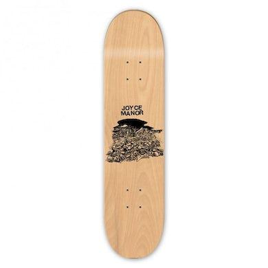 Joyce Manor Skulls Skateboard
