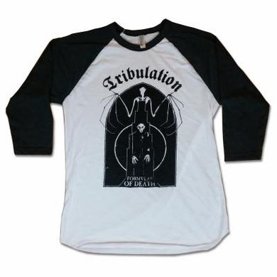 Tribulation Bat Raglan (Grey/White)