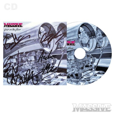 Massive Four On The Floor CD EP - Signed