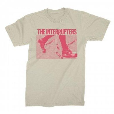 The Interrupters Boots Tee (Natural)