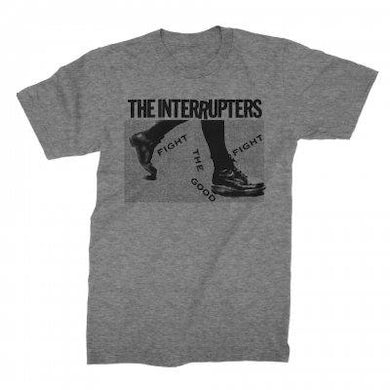 The Interrupters Boots Tee (Grey Tri-blend)