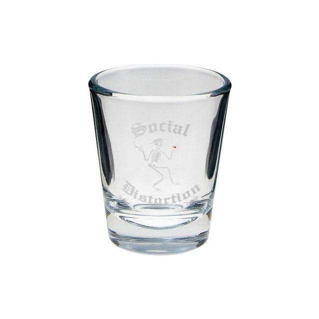 Social Distortion Skelly Shot Glass