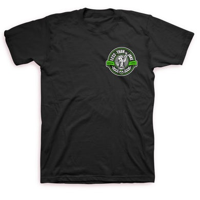 Less Than Jake Crest Logo T-shirt (Black)