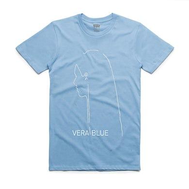 Vera Blue Figure T-shirt (Blue)