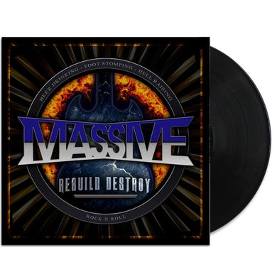 Massive Rebuild Destroy LP (Black) - Signed (Vinyl)
