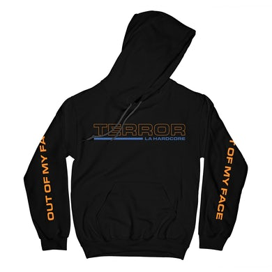 Terror   Out of My Face Hoodie (Black)