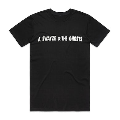 A. Swayze And The Ghosts Blurred Logo Tee (Black)