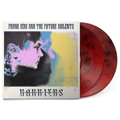 Frank Iero Barriers 2LP (Red/Black Marble) (Vinyl)