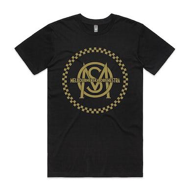 Melbourne Ska Orchestra Gold Logo T-shirt (Black)