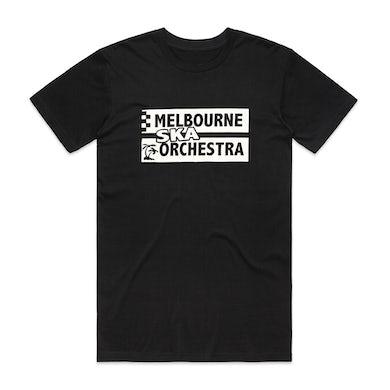 Melbourne Ska Orchestra Text Logo T-shirt (Black)