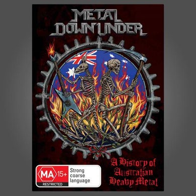 NE OBLIVISCARIS Metal Down Under DVD