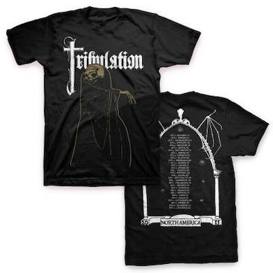 Tribulation 2015 Tour T-shirt (Black)