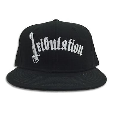 Tribulation Logo Snapback Hat (Black)