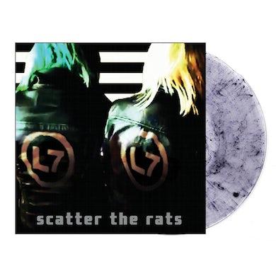 L7 Scatter The Rats LP (Clear W/ Black Pigment) (Vinyl)