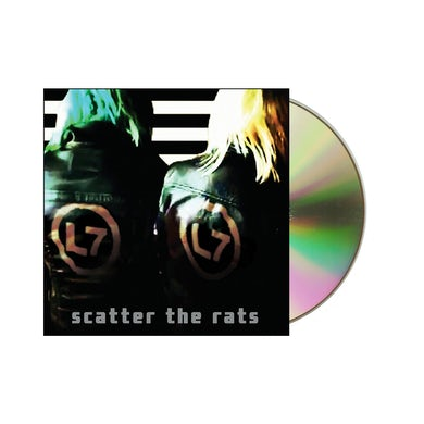 L7 Scatter The Rats CD