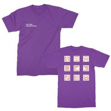 Com Truise Persuasion System Grid Tee (Purple)
