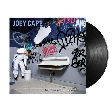Joey Cape Let Me Know When You Give Up LP (Black) (Vinyl)