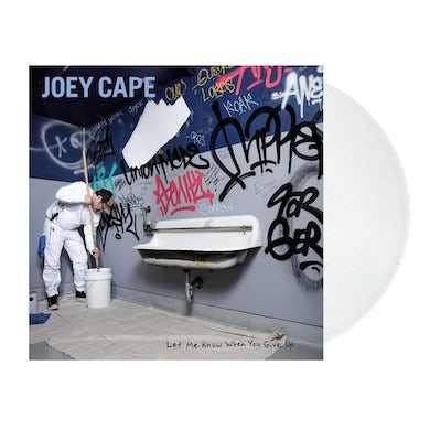 Let Me Know When You Give Up LP (White) (Vinyl)