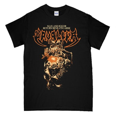 Cavalera Conspiracy Beneath Arise Tracklisting Womens T-Shirt (Black)