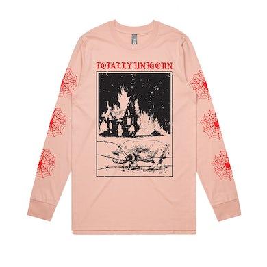 totally unicorn Barn Burner Longsleeve (Pink)