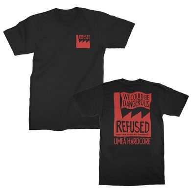 Refused Real Threat T-shirt (Black)