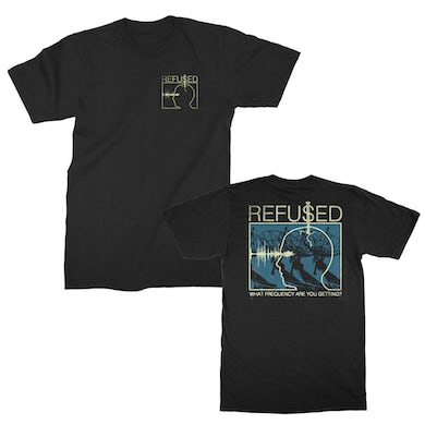 Refused Frequency T-shirt (Black)
