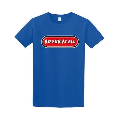 No Fun At All Logo Tee (Blue)