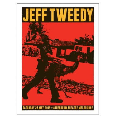Jeff Tweedy Emu 2019 Tour Poster (A2)