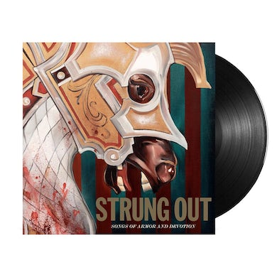 Strung Out Songs of Armor and Devotion LP (Black Vinyl)