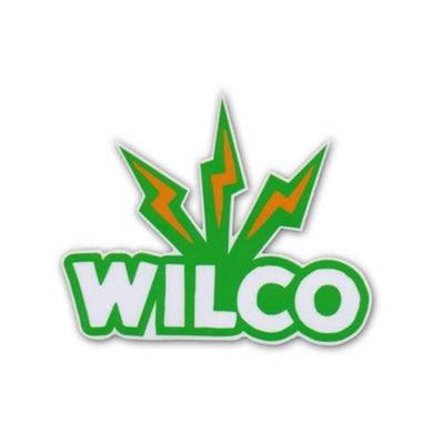 Wilco Lightning Logo Sticker