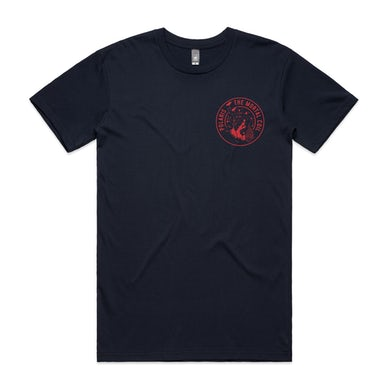 Polaris Falling Man Circle (Navy)
