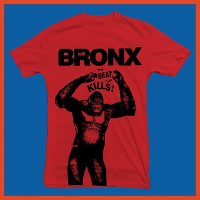 The Bronx Beat That Kills Tee (Red)