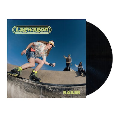 Lagwagon Railer LP (Black) (Vinyl)
