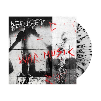 Refused War Music LP (Clear with Black Splatter) (Vinyl)